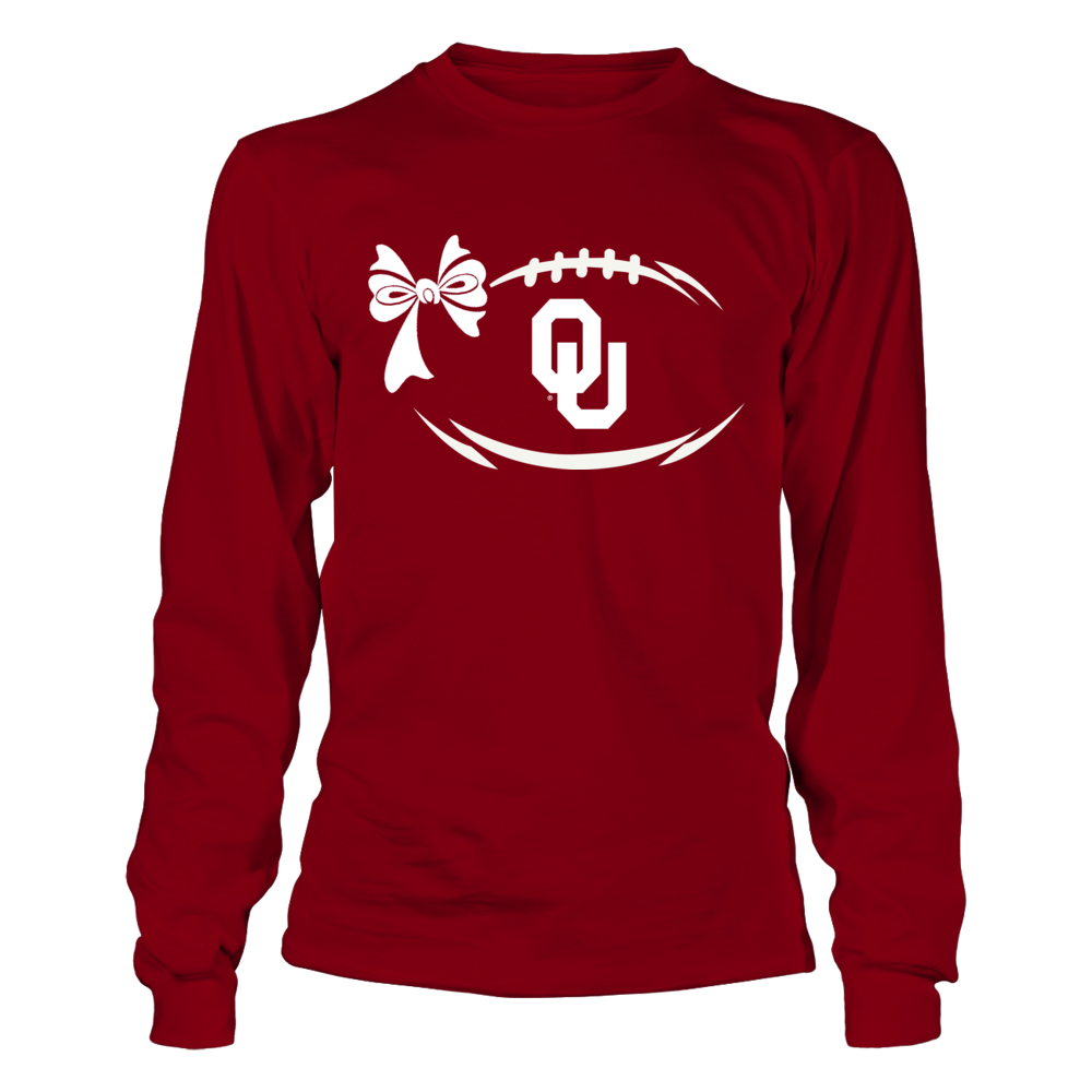 Oklahoma Sooners - Football Bow Front picture