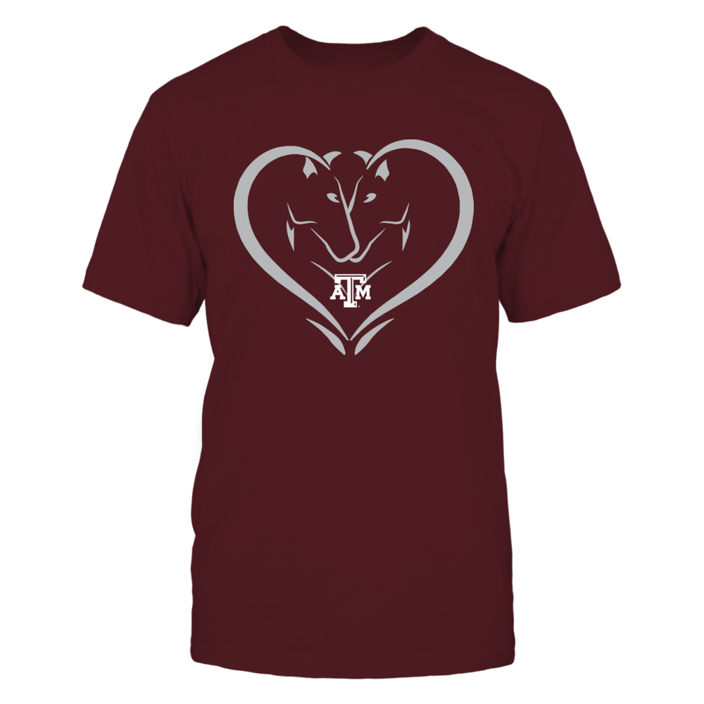 Texas A&M Aggies - Horse Heart Front picture