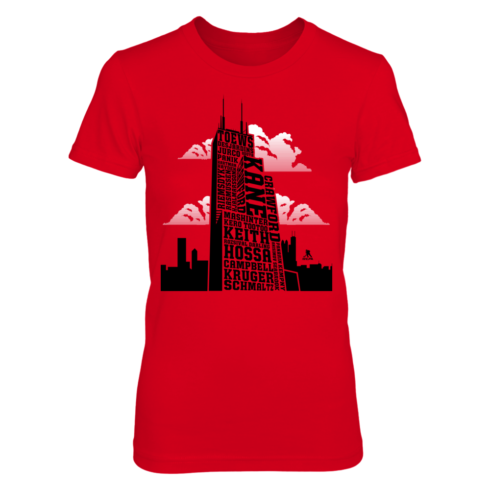 Patrick Kane Patrick Kane - Sears Tower Skyline Roster FanPrint