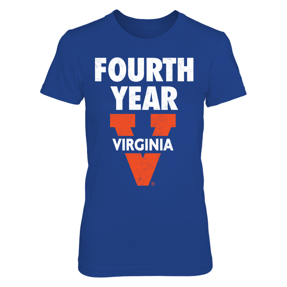 University of Virginia Lingo: Fourth-Year Distressed Design - Go Hoos! Front picture