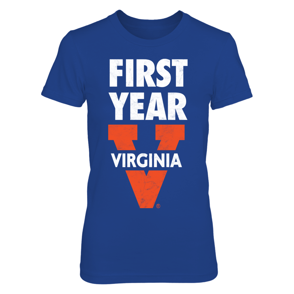 University of Virginia Lingo: First-Year Distressed Design - Go Hoos! Front picture