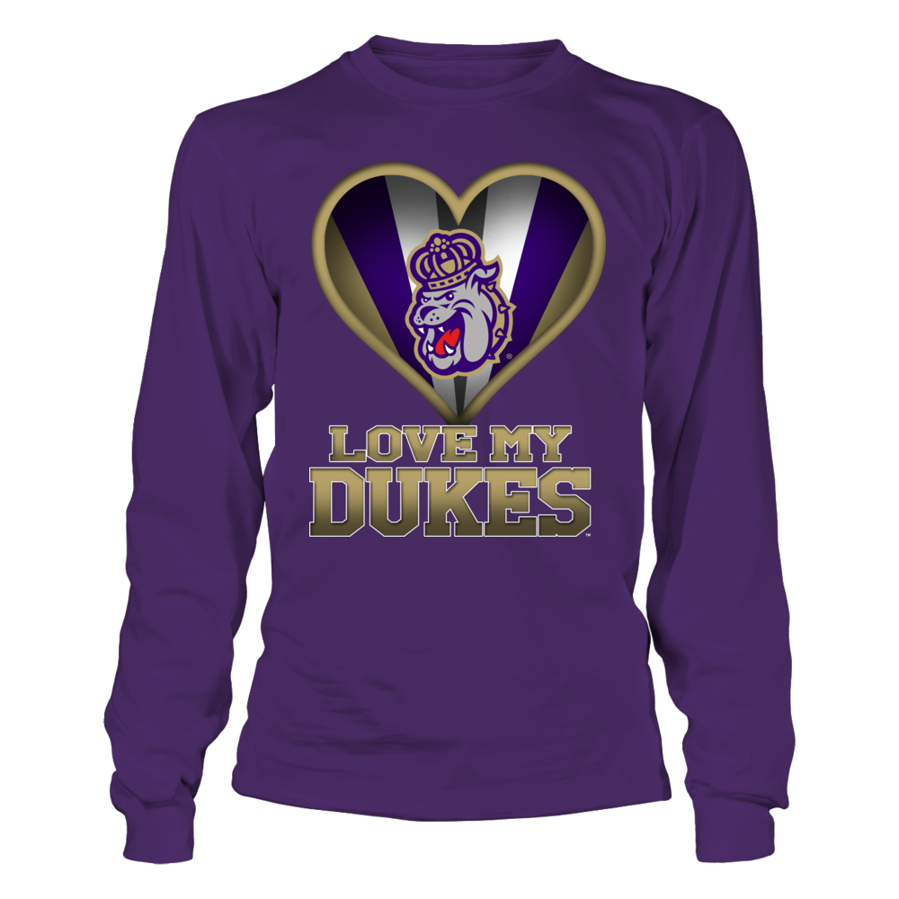 James Madison Dukes - I Love My Team Front picture