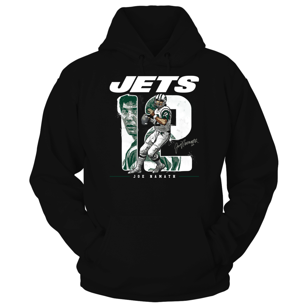 New York Jets - Namath - Number Portrait Front picture