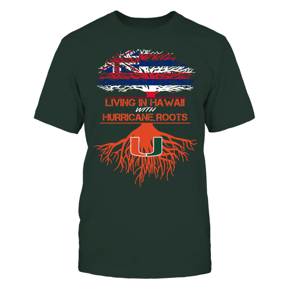 Miami Hurricanes - Living Roots Hawaii Front picture