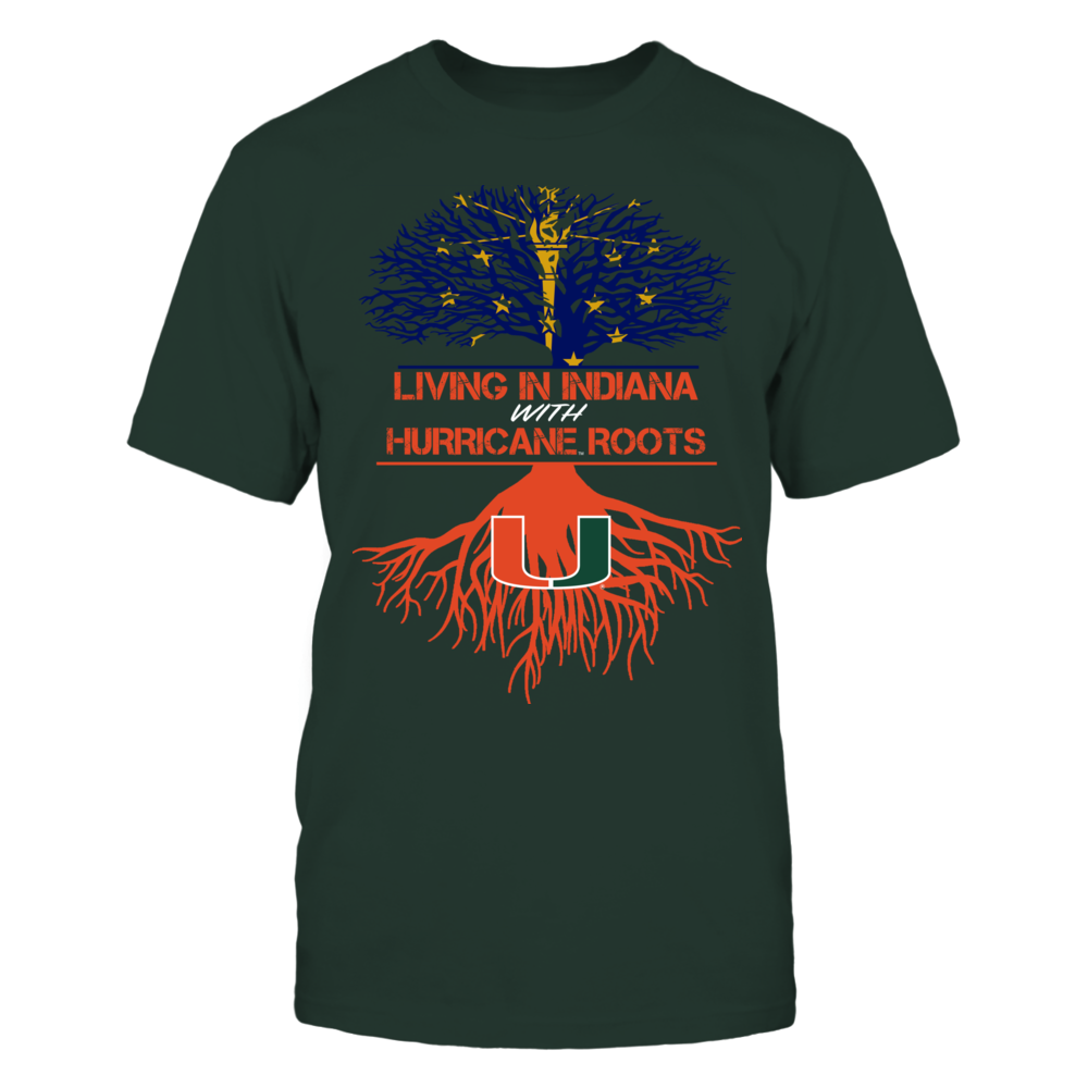 Miami Hurricanes - Living Roots Indiana Front picture