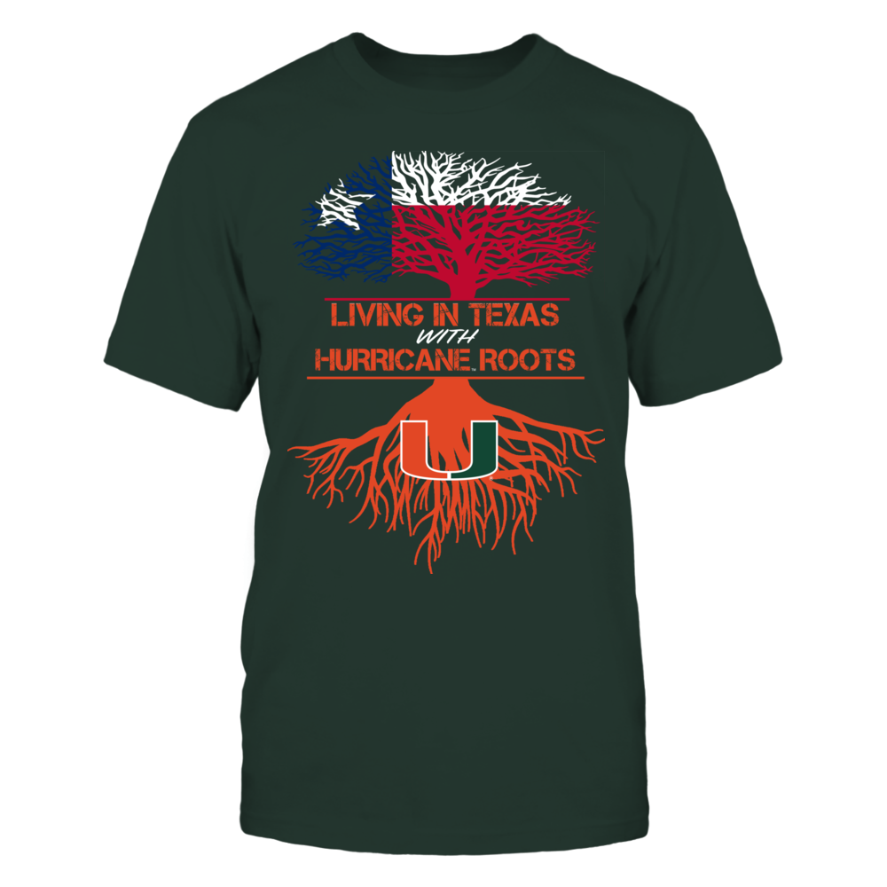 Miami Hurricanes - Living Roots Texas Front picture