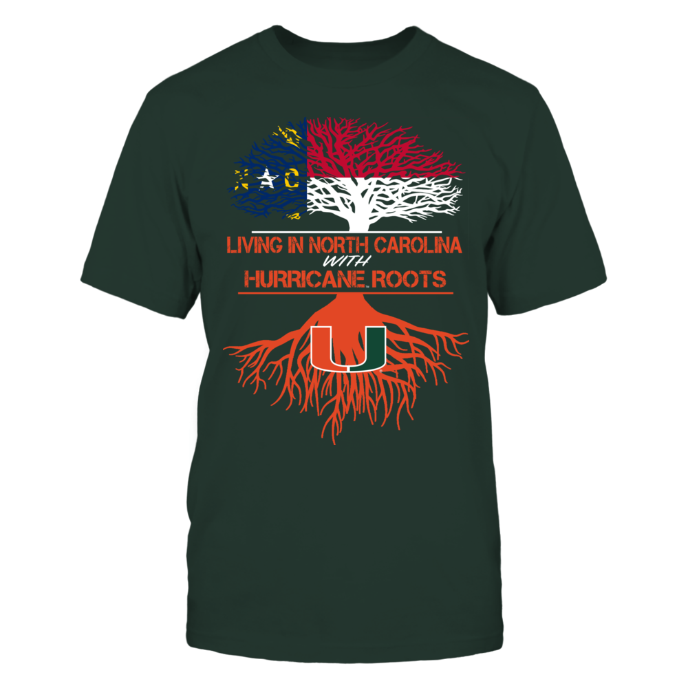 Miami Hurricanes - Living Roots North Carolina Front picture
