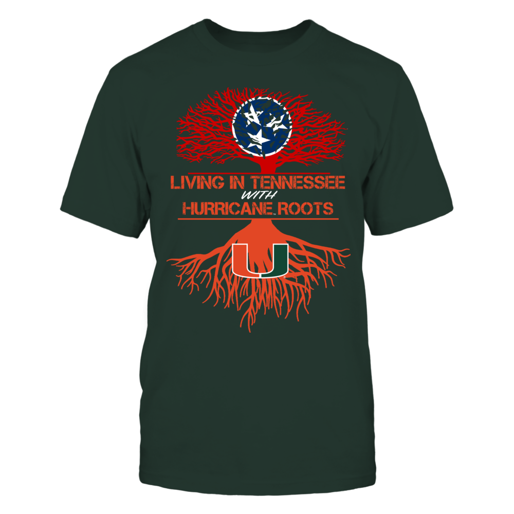 Miami Hurricanes - Living Roots Tennessee Front picture