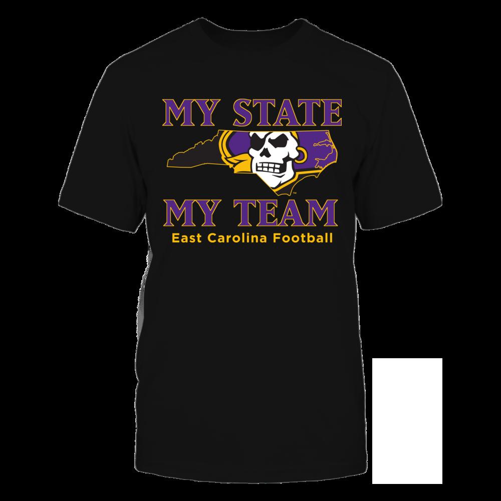 East Carolina Pirates East Carolina Football - My State & My Team FanPrint