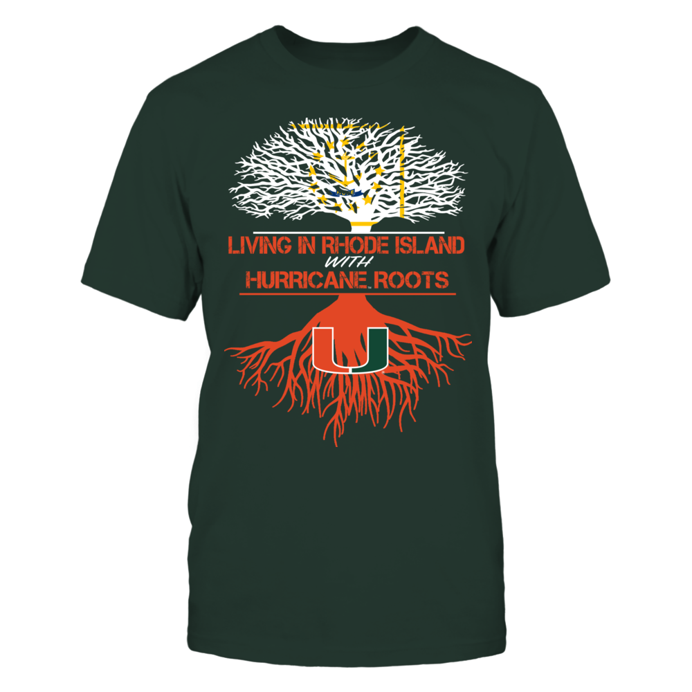 Miami Hurricanes - Living Roots Rhode Island Front picture