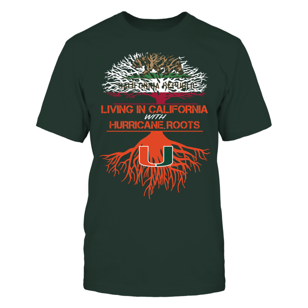 Miami Hurricanes - Living Roots California Front picture