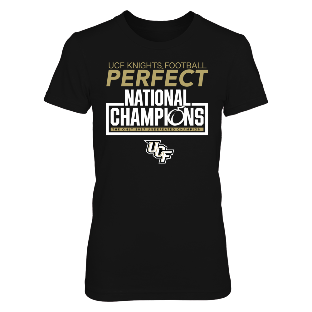 PERFECT NATIONAL CHAMPIONS - UCF KNIGHTS Front picture