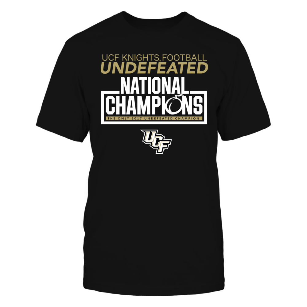 UNDEFEATED NATIONAL CHAMPIONS - UCF KNIGHTS Front picture