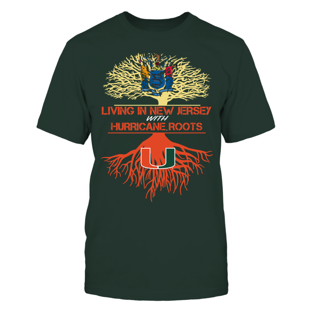Miami Hurricanes - Living Roots New Jersey Front picture