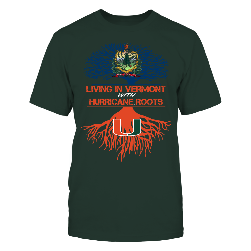 Miami Hurricanes - Living Roots Vermont Front picture