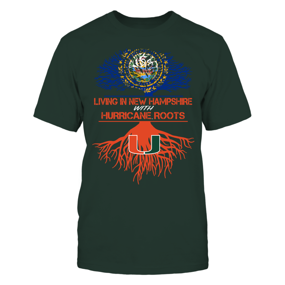 Miami Hurricanes - Living Roots New Hampshire Front picture