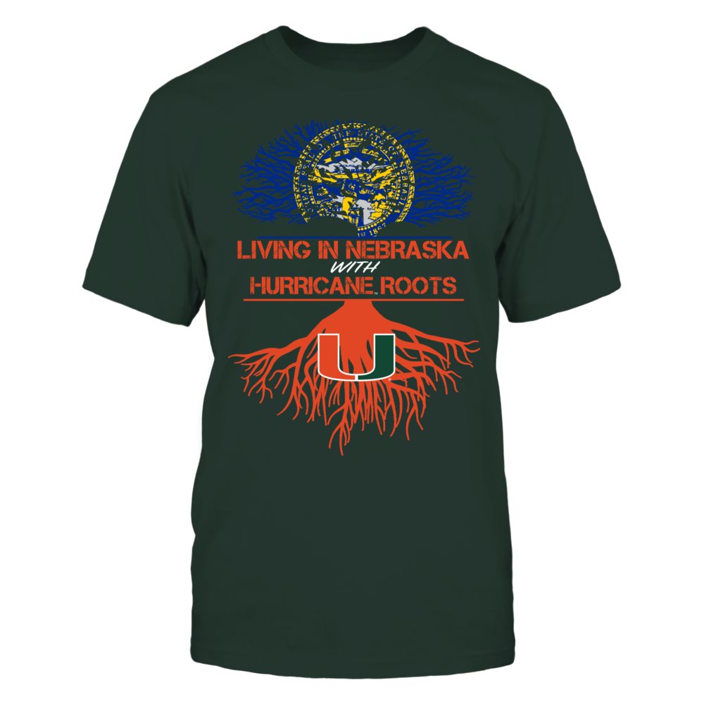 Miami Hurricanes - Living Roots Nebraska Front picture