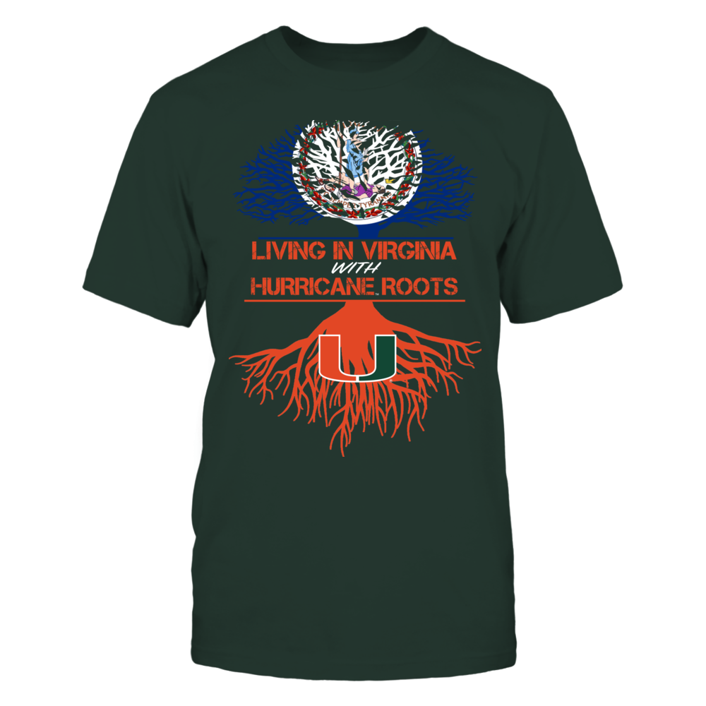 Miami Hurricanes - Living Roots Virginia Front picture