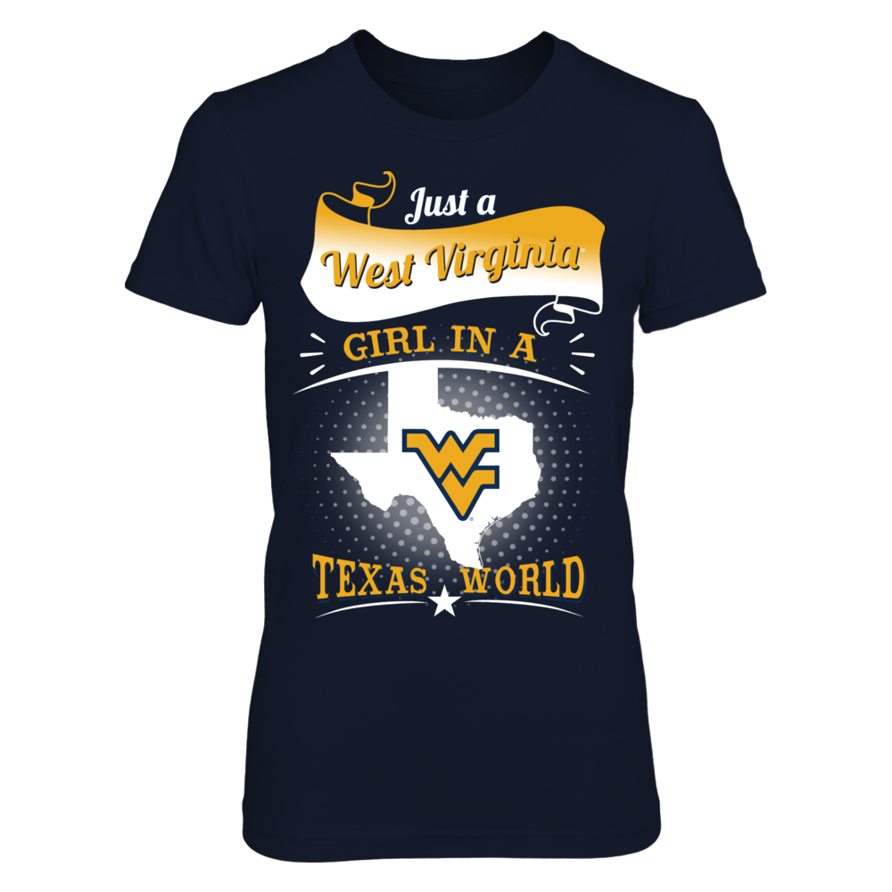 West Virginia - Girl In A Texas World Front picture