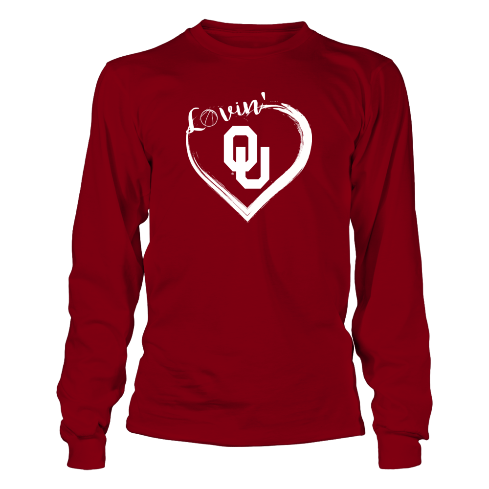Oklahoma Sooners Apparel - Basketball Lovin' Fans Front picture