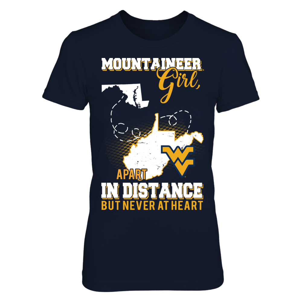 West Virginia - Maryland Apart In Distance Never At Heart Front picture