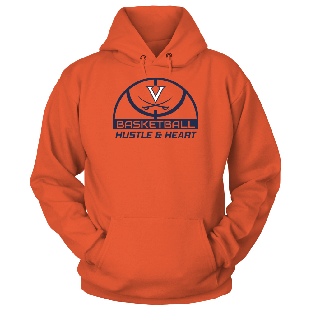 HUSTLE & HEART - VIRGINIA CAVALIERS Front picture