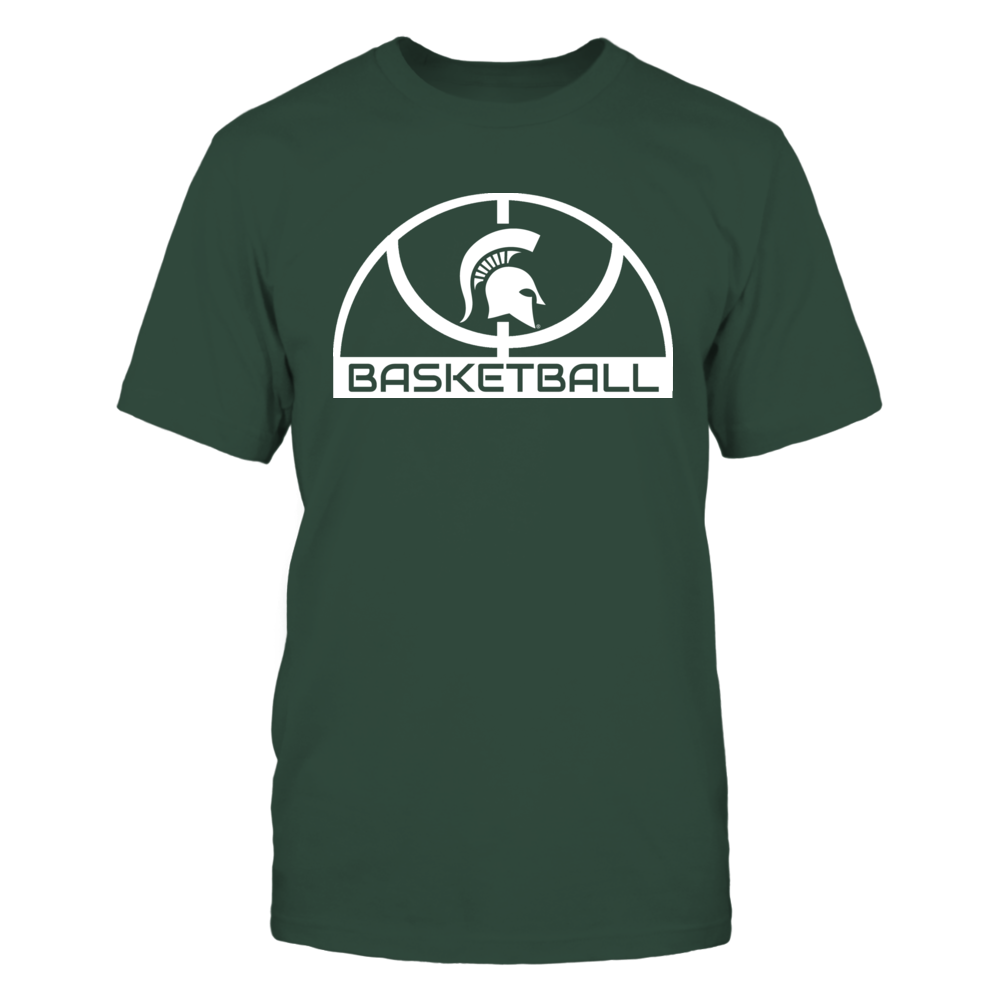 Elite Basketball Shirt - Michigan State Spartans Front picture