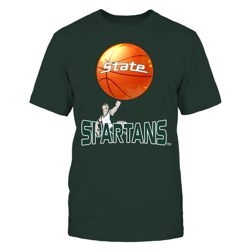 Michigan State Spartans, Spartans Basketball Front picture