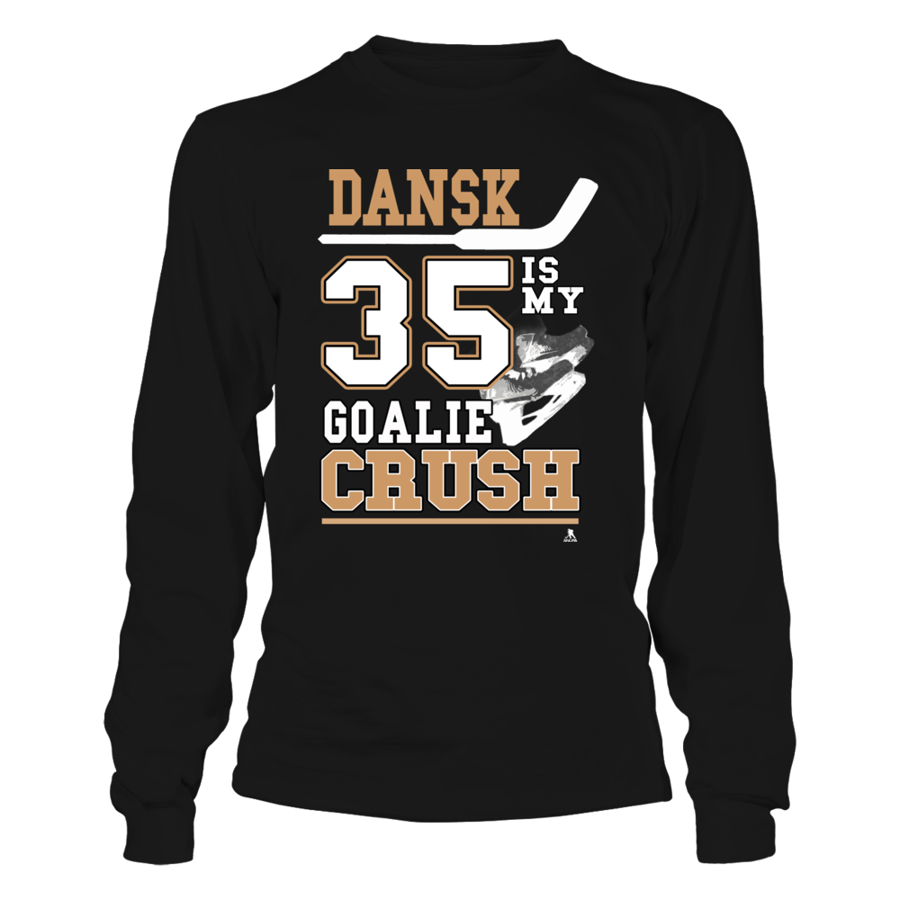 Oscar Dansk No 35 - Dansk is my Goalie Crush Front picture
