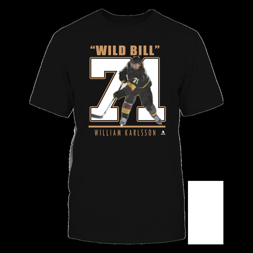 """William Karlsson No. 71 - """"Wild Bill"""" Front picture"""