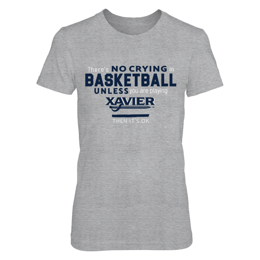 Xavier Musketeer Basketball - No Crying Front picture