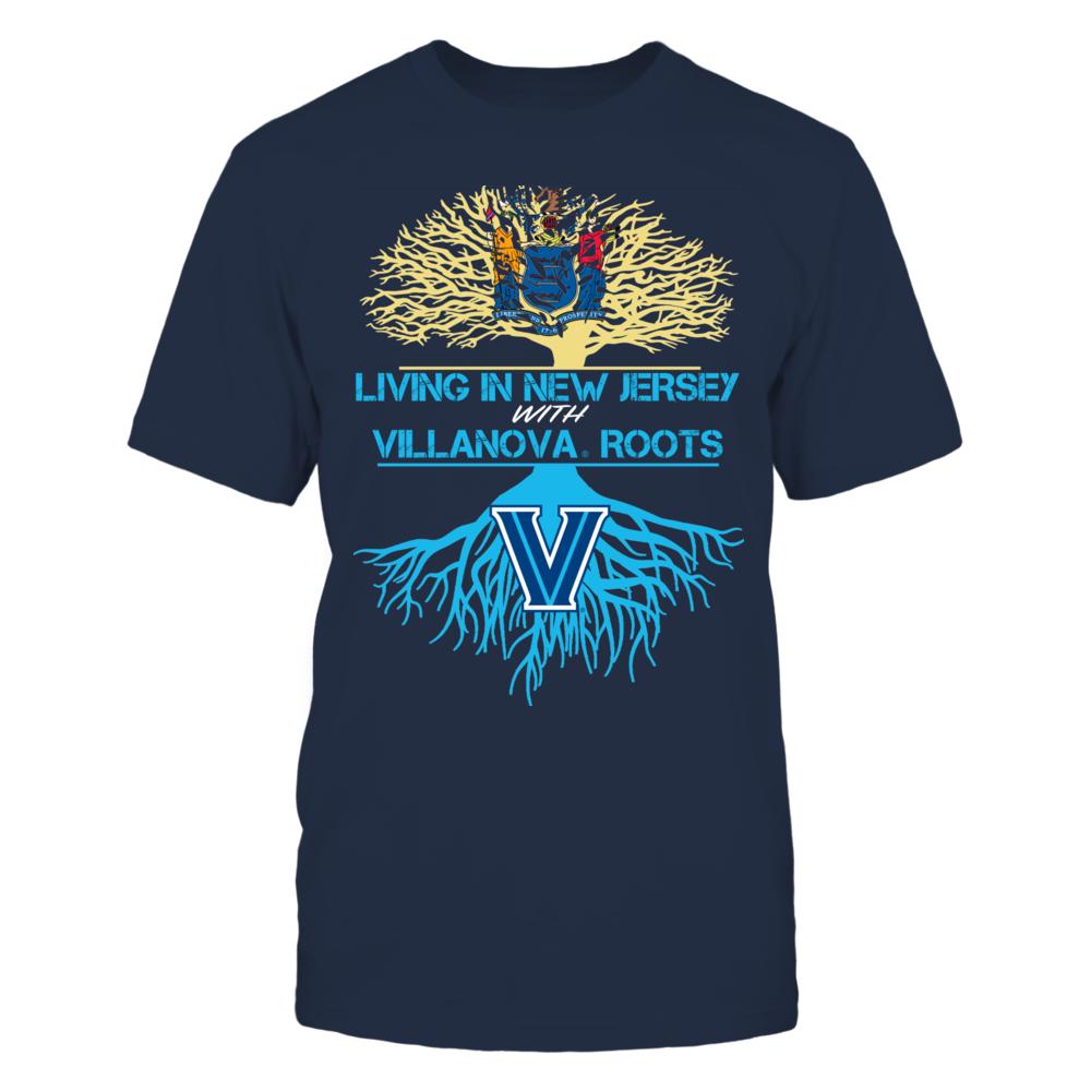 Villanova Wildcats - Living Roots New Jersey Front picture