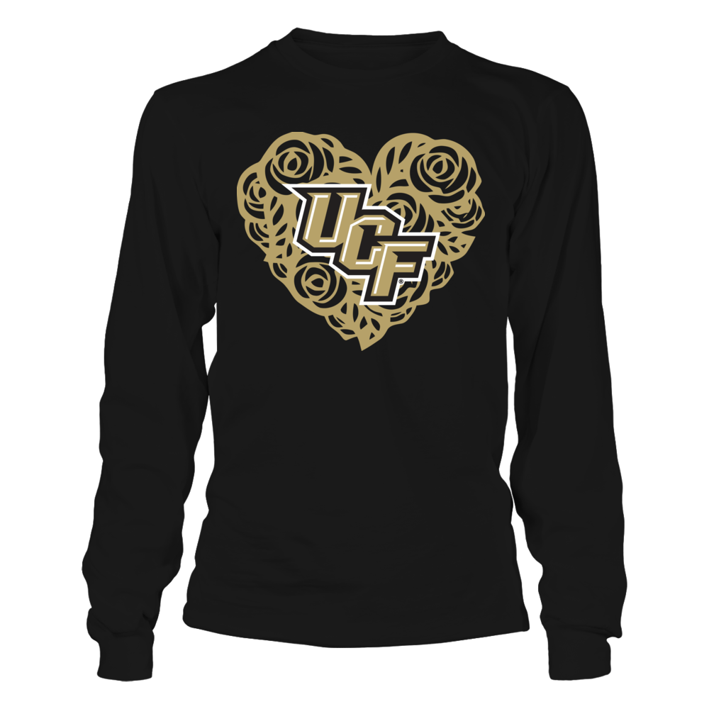 UCF Knights - Rose Heart Front picture