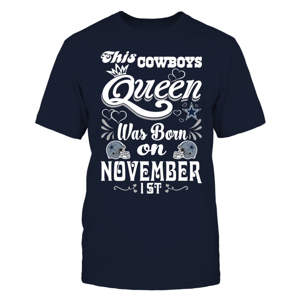 This Cowboys Queen Was Born On November 1st Front picture