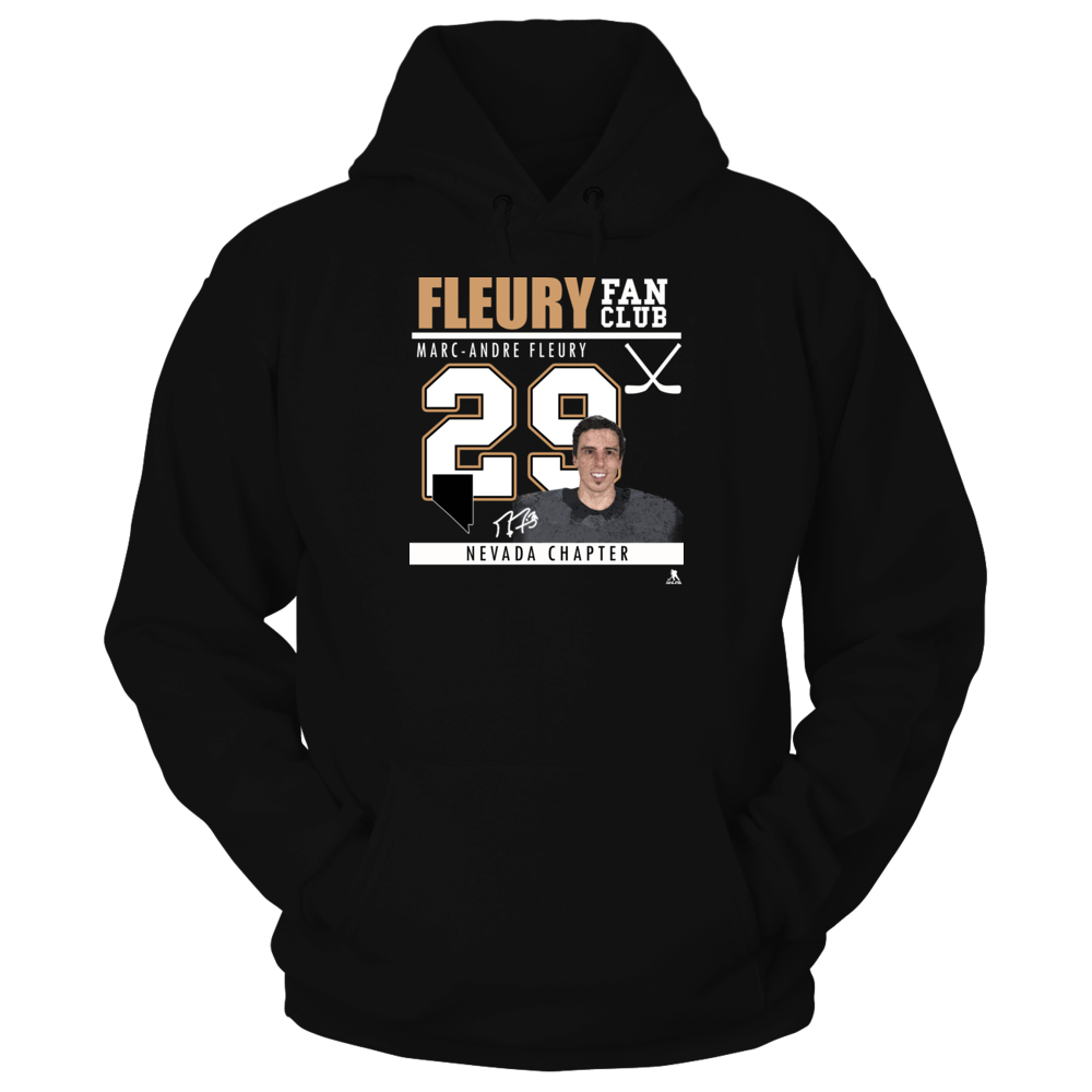 Marc-Andre Fleury - Fan Club, Nevada Chapter Front picture