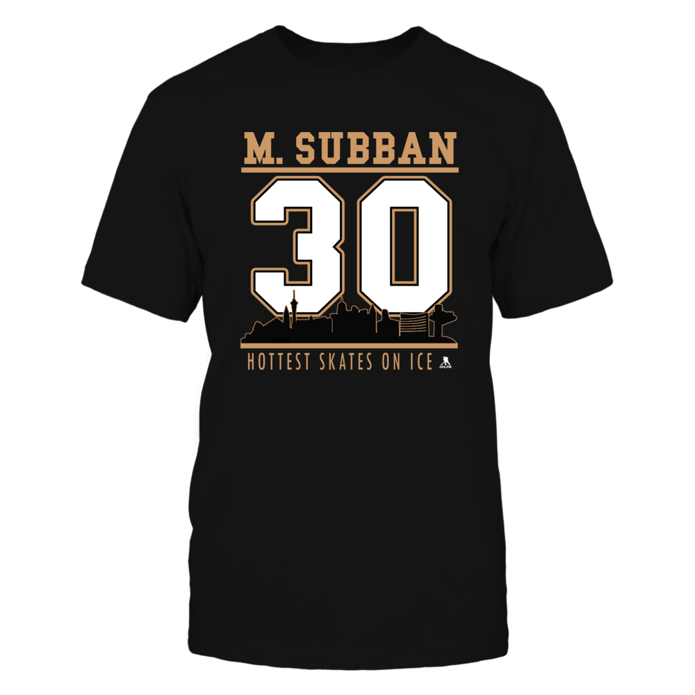 Malcolm Subban No 30  - Vegas Hockey, Hottest Skates on Ice Front picture
