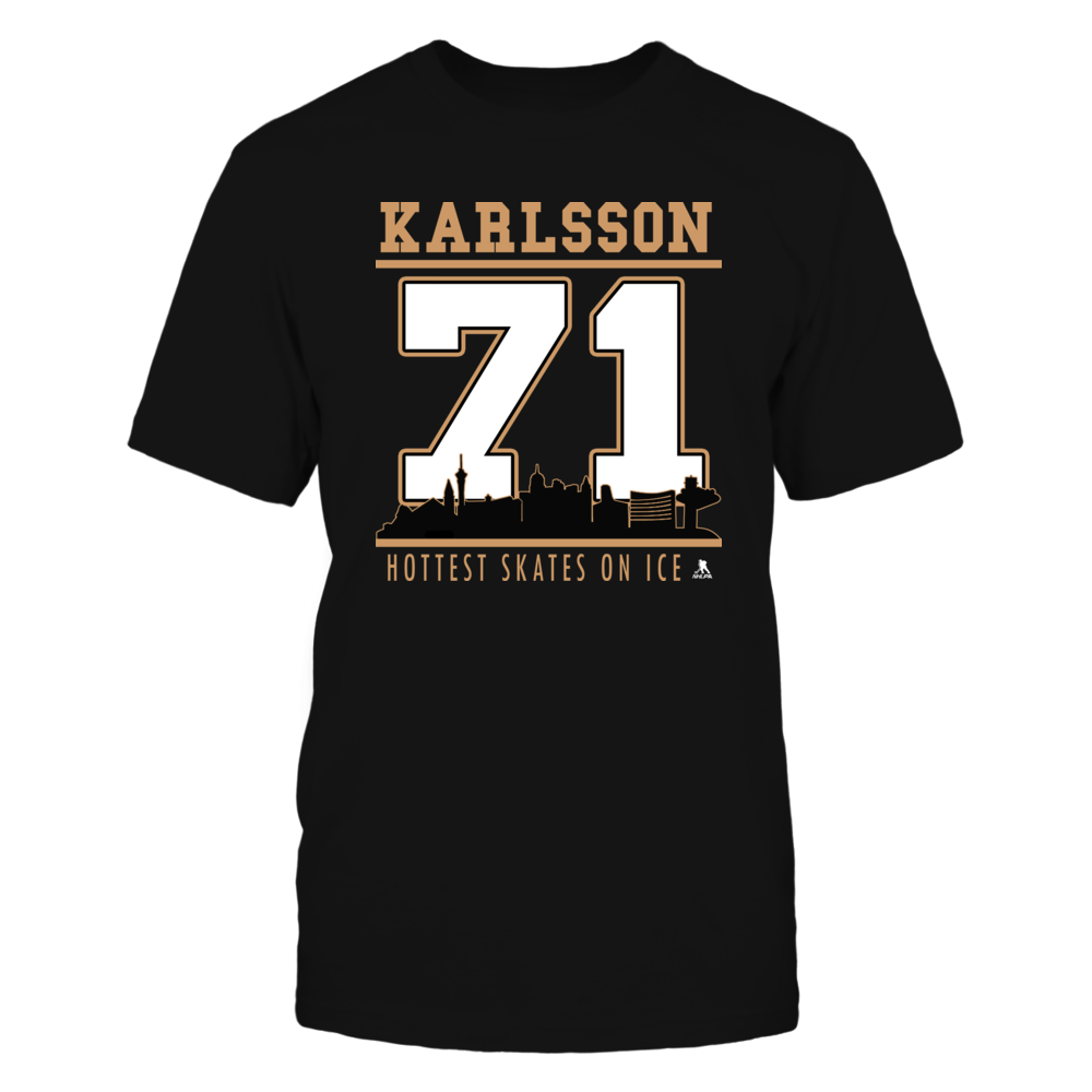William Karlsson No 71 - Vegas Hockey, Hottest Skates on Ice Front picture