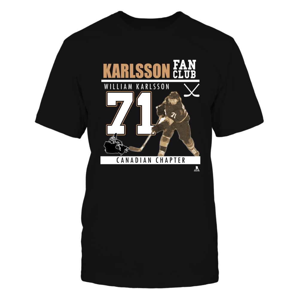 William Karlsson No 71 - Fan Club, Canadian Chapter Front picture