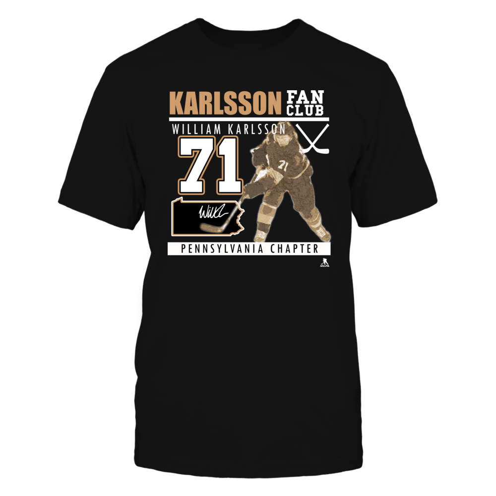 William Karlsson No 71 - Fan Club, Pennsylvania Chapter Front picture