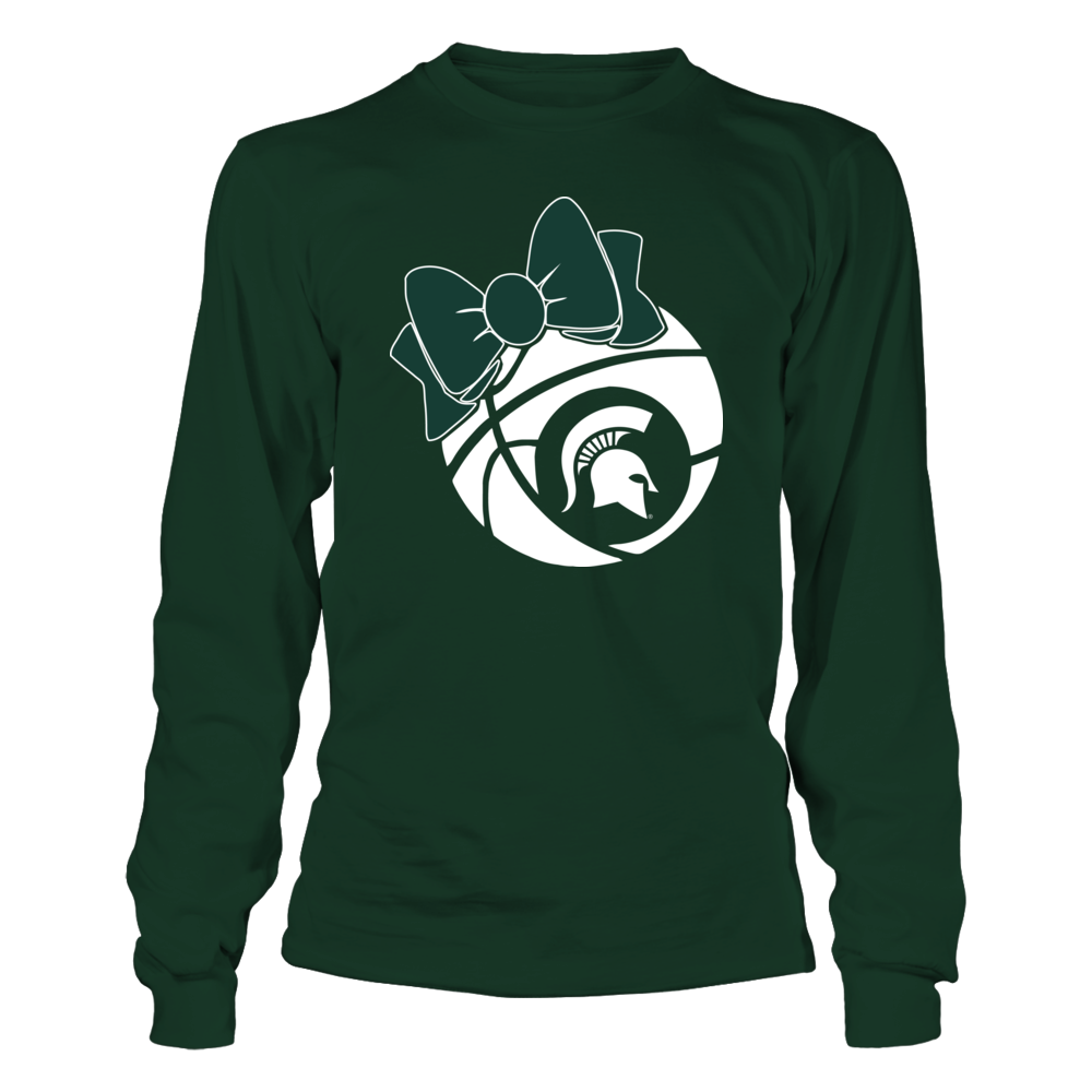 Michigan State Spartans - Basketball Bow Front picture