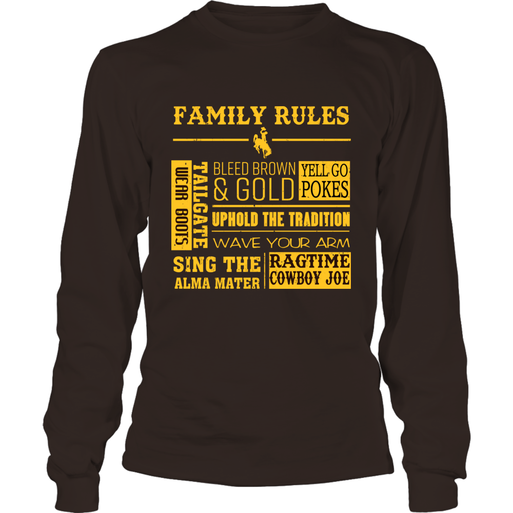 Wyoming Cowboys - Family Rules Front picture