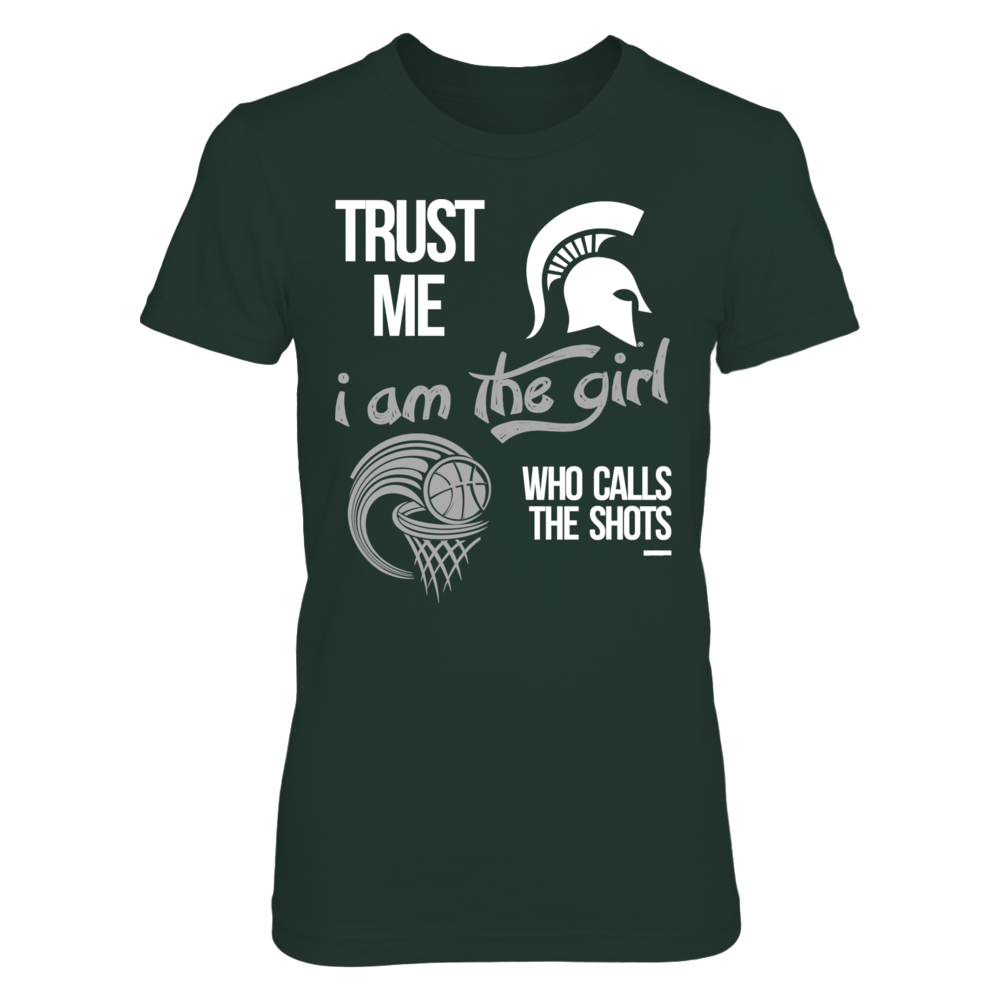 The Girl Who Calls The Shots - Michigan State Basketball Front picture