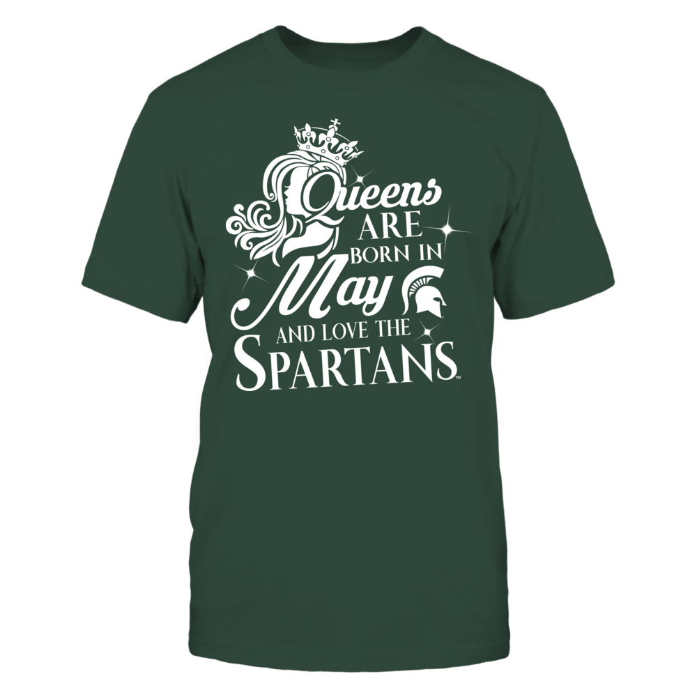 Michigan State Spartans -  Queens Are Born In May Front picture