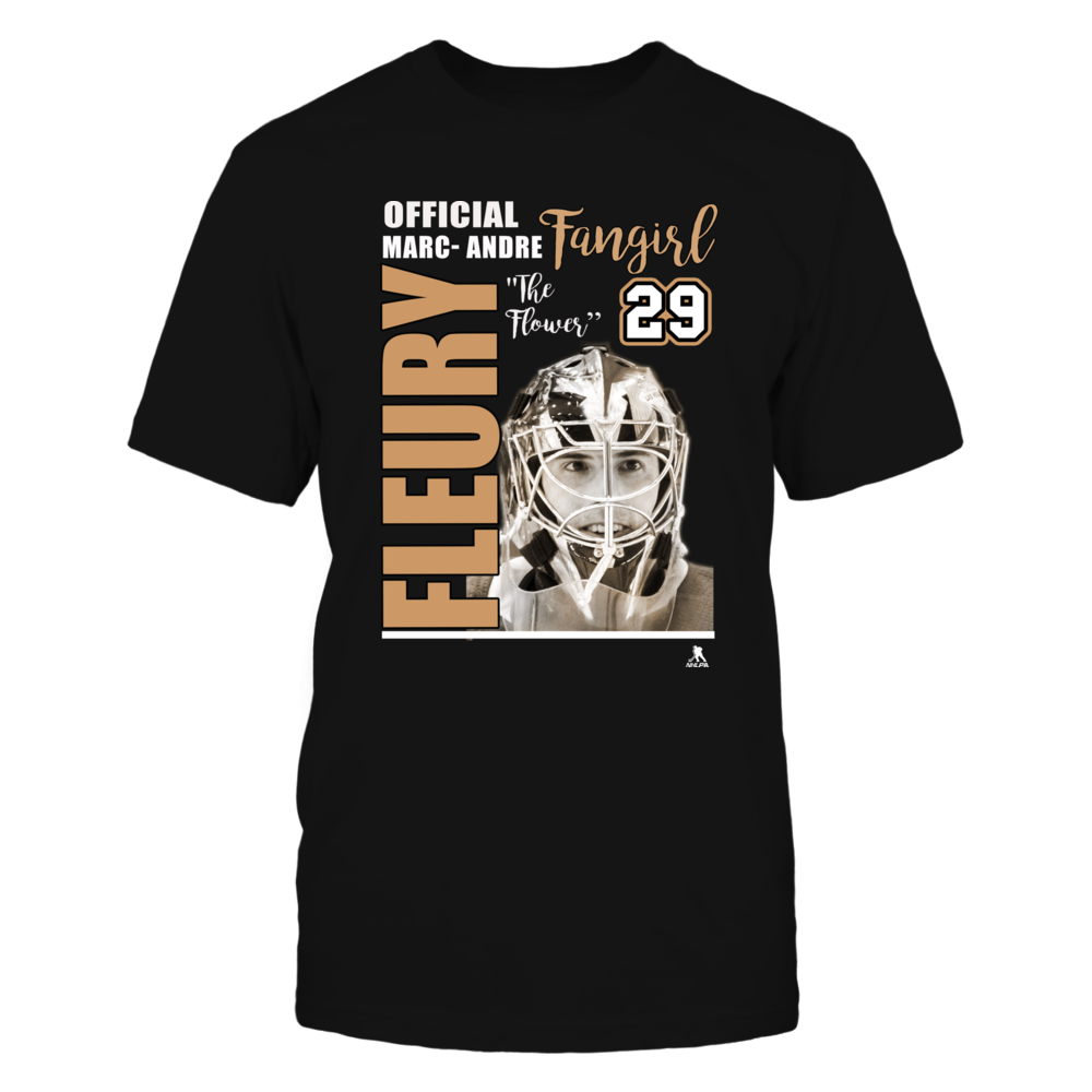 Marc-Andre Fleury No. 29 - Fan Girl Shirt Front picture