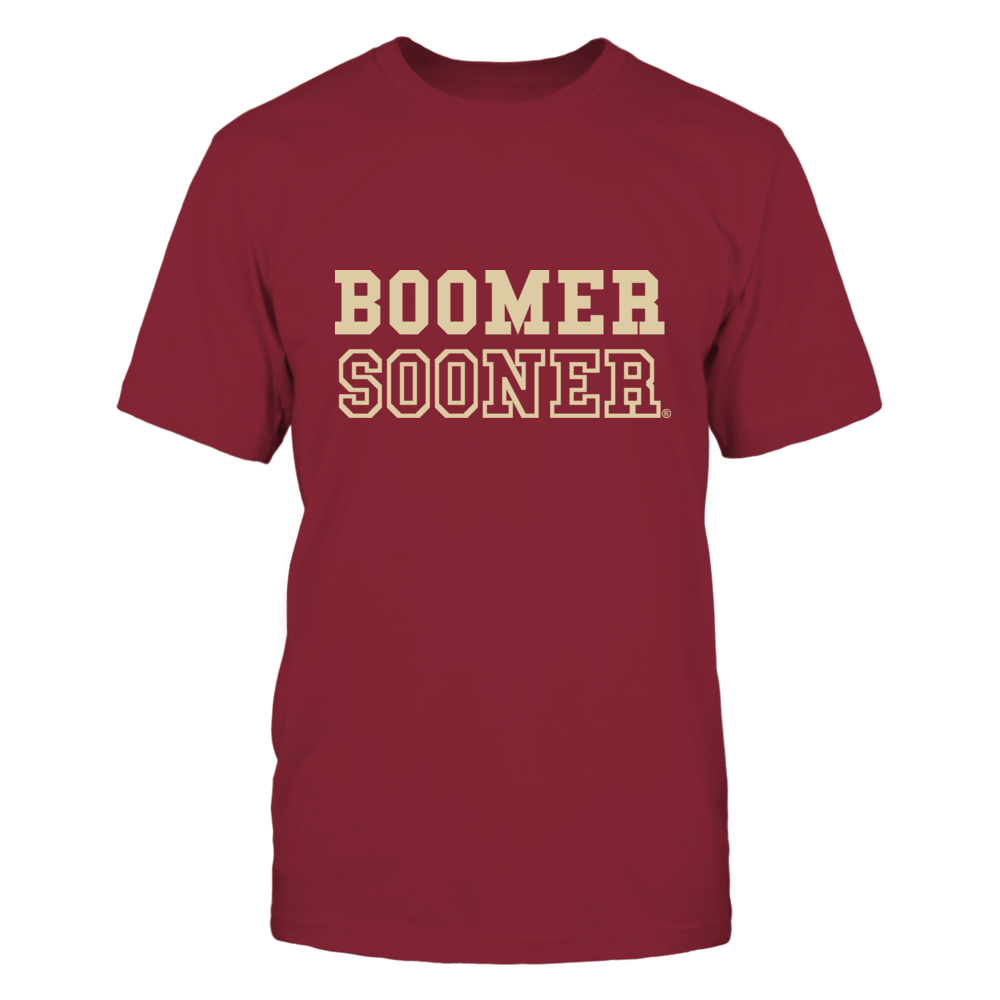 RETRO BOOMER SOONER - OKLAHOMA SOONERS Front picture