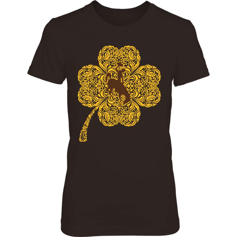 Wyoming Cowboys - Clover Celtic Pattern Front picture