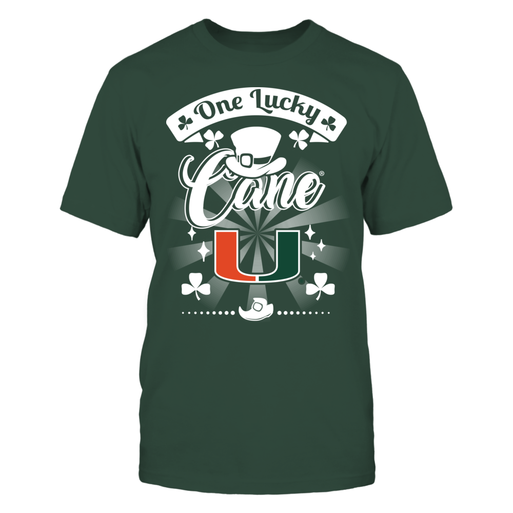 Miami Hurricanes - One Lucky Cane Front picture