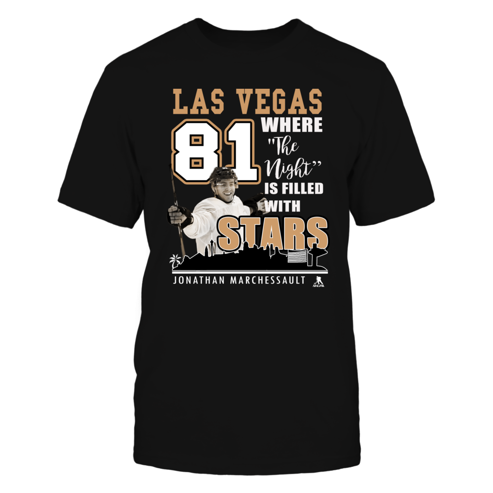 Jonathan Marchessault No 81 - Vegas Hockey, Where the Nights is Filled with Stars Front picture