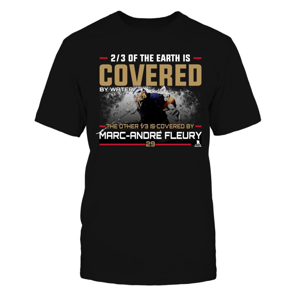 Covered by Marc-André Fleury Front picture