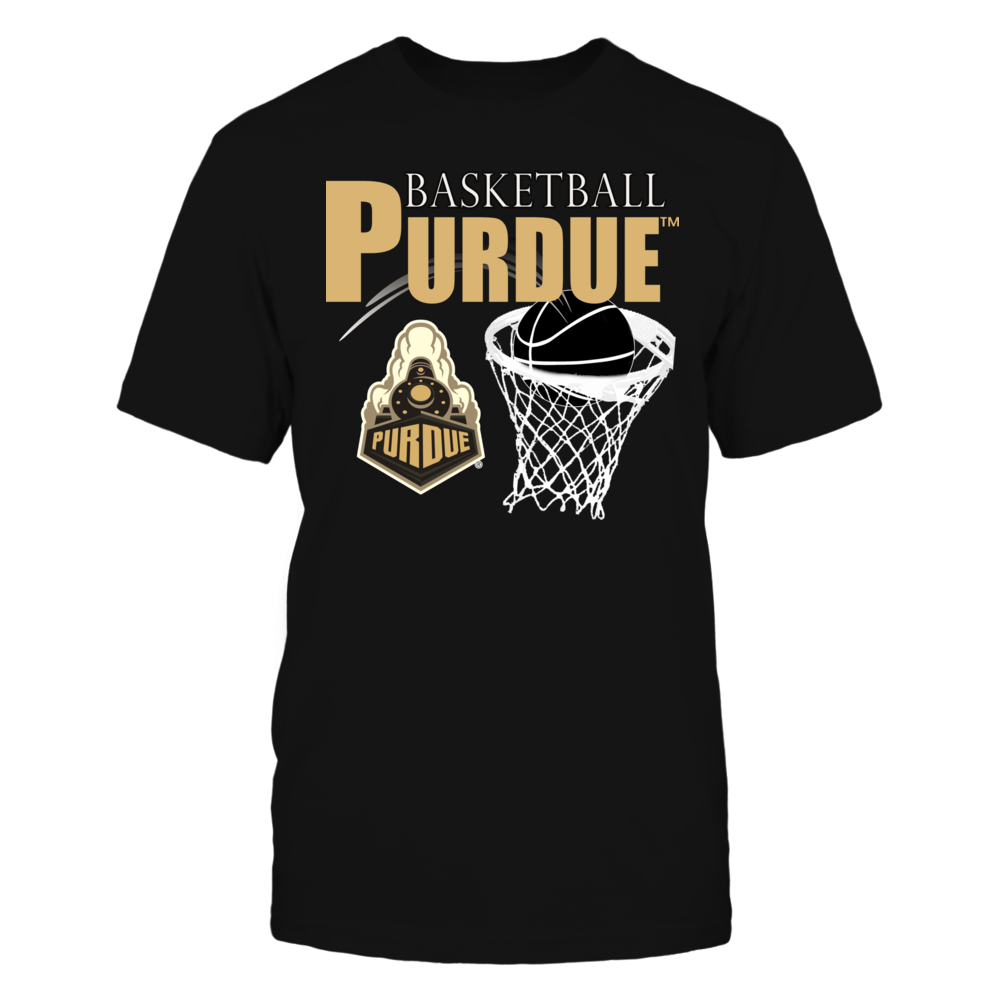 Purdue University Athletics Clothing - Basketball T-shirts Front picture